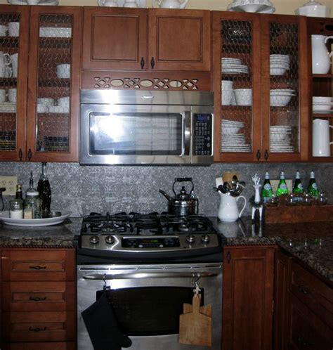 chicken wire backsplash 104 best images about kitchen ideas on