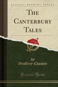 the canterbury tales classic reprint by geoffrey chaucer paperback barnes noble 174