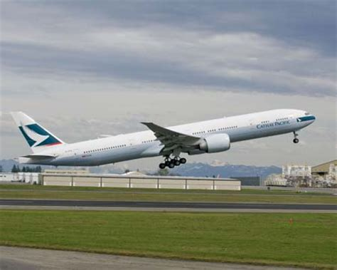 boeing delivers cathay pacific airways' 75th airplane