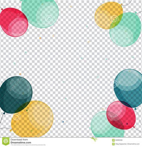 imagenes de cumpleaños brillantes globos brillantes del feliz cumplea 241 os en vector