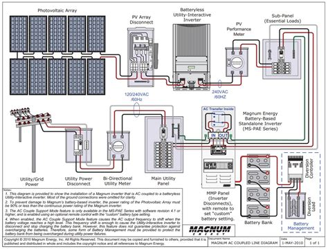 battery and inverter wiring diagram battery free engine