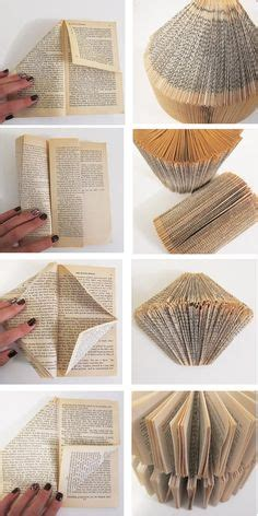 Make Paper L - 1000 ideas about folded book on book
