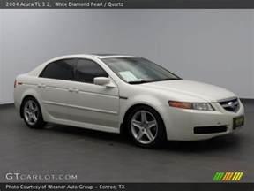 White 2004 Acura Tl White Pearl 2004 Acura Tl 3 2 Quartz Interior