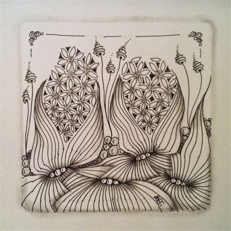 zentangle pattern zinger 1000 images about zentangle flowers on pinterest
