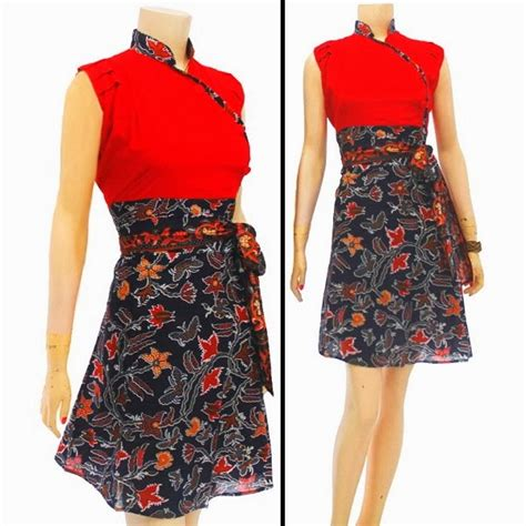 Dress Wanita Kode Jv01 batik bagoes dress wanita batik kode db 3193