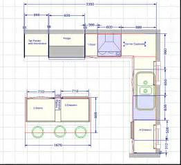 Kitchen Island Plans For Small Kitchens plan the challenger 2 kitchen fitout floorplan kitchen plans