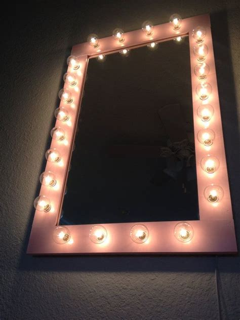 Light Up Vanity by Custom Lit Quot Pretty N Pink Quot Vanity Make Up Table Top Light