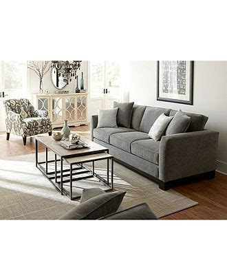 Kenton Fabric Sofa Living Room Furniture Collection Kenton Fabric Sofa