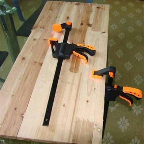 squeeze wood woodworking bar clamp spreader quick