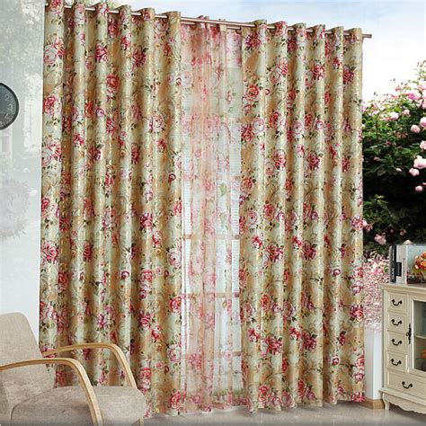 sheer flower curtains new classical flower curtain window 2013 new fashion