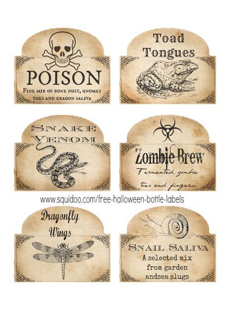 printable potion labels free printable halloween bottle labels potion labels