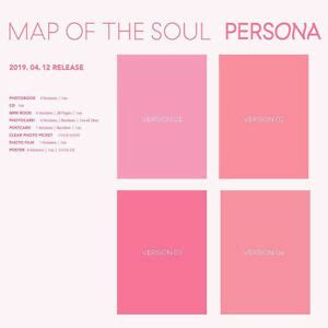 bts map   soul persona version select cdfolded