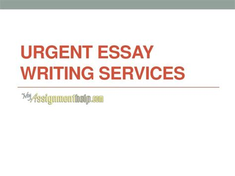 Uk Essay Writing Services by Ppt Urgent Essay Writing Help Services In Uk Usa Australia Myassignmenthelp Powerpoint