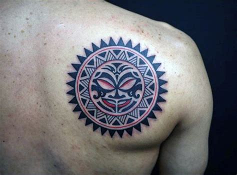 sun tattoos for men 70 sun designs for a symbol of and light