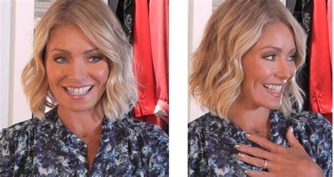 kelly rippa short wavy bob kelly ripa short curly hair