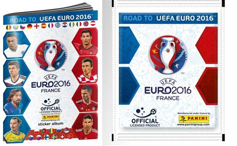 Panini Cards Sticker Album by Panini Road To 2016 Uefa Official Sticker Album