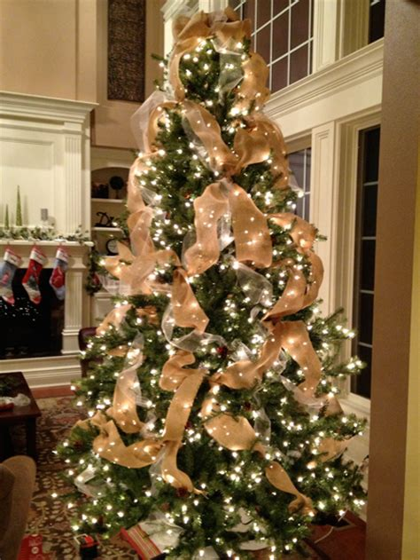 burlap christmas on pinterest burlap christmas tree