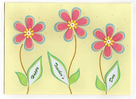 Handmade Card Designs For Teachers Day - 17 best ideas about handmade teachers day cards on
