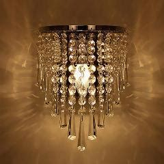 unique and novelty led wall lamps crystal ball wall lights