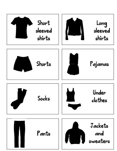printable draw labels clothes drawer labels images