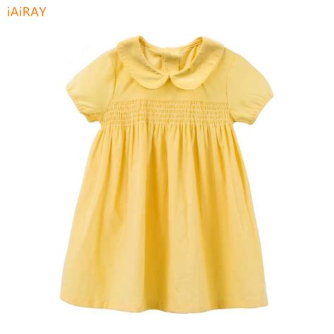 Baby Dress Cotton 1 sleeve baby dress 1 year infant dresses children clothes cotton fabric