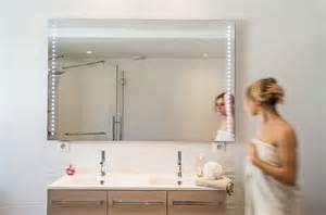 miroir 224 leds sur mesure