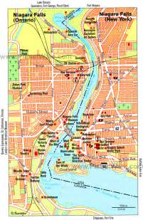 map of hotels in niagara falls canada