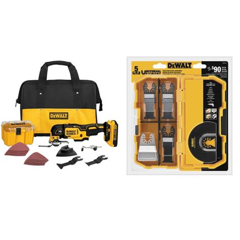 Dewalt Dcs355d2 Kr Li Ion Brushless Multi Tool dewalt dcs355d1 4216 bndl 20v max xr cordless lithium ion brushless oscillating multi tool kit