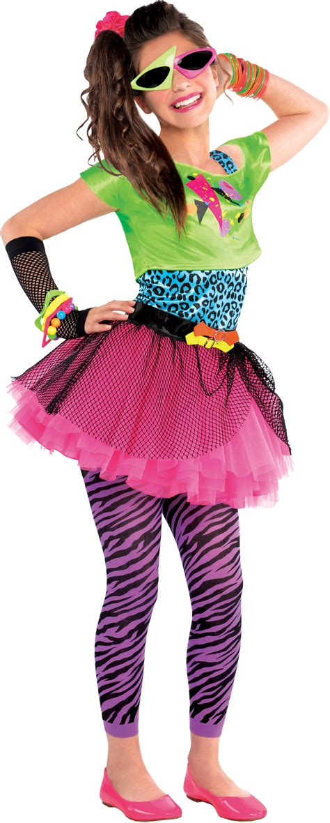 Tarty Costumes by Sale 80s Totally Awesome Fancy Dress Costume