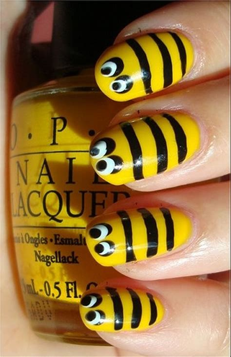 Nail Zelf Doen by 40 Yellow Nail Ideas To Try On