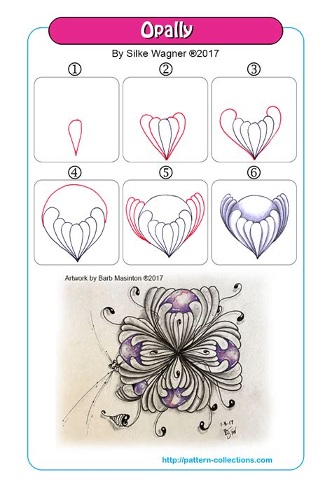 heart pattern xuite 1000 images about zentangle steps on pinterest