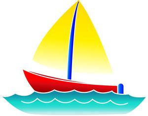 clipart boat on water boat clipart image cute little sailboat on the water