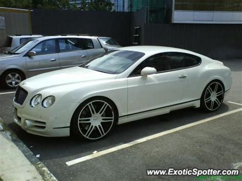 bentley malaysia bentley continental spotted in kl malaysia on 01 09 2009