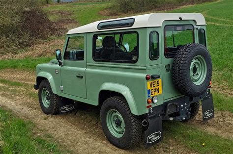 land rover ninety 2016 land rover defender 90 heritage review