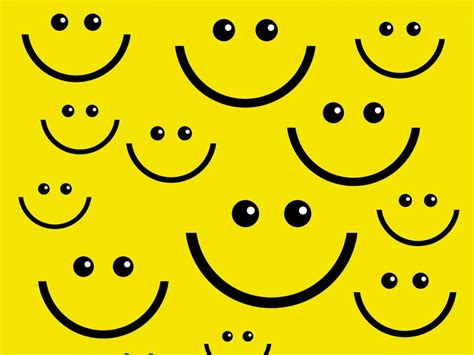 templates powerpoint smile smile face ppt backgrounds black design yellow