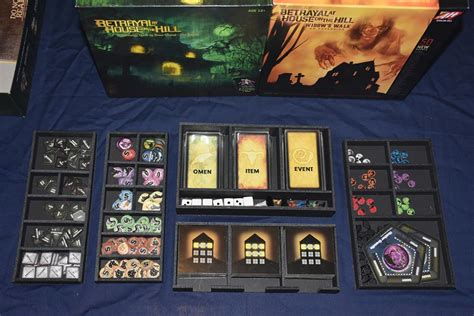 betrayal house on the hill betrayal at the house on the hill foamcore insert pre assembled top shelf gamer