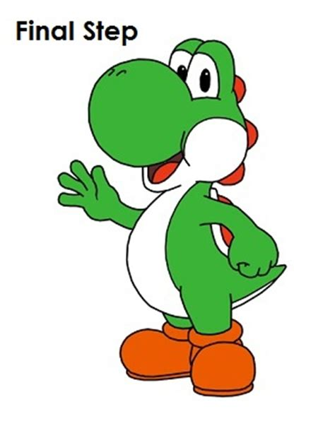 Drawing Yoshi by Easy Yoshi Drawings Www Pixshark Images Galleries