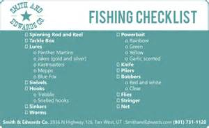 scout camp fishing amp camping checklist
