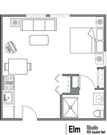 400 Sq Ft Apartment Floor Plan | floor plan idea 400 sq ft basement apartment pinterest