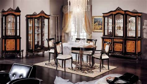 luxury classic dining room furniture by modenese gastone
