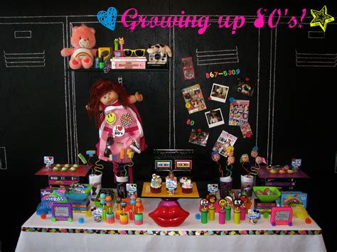 80s Theme Decorations by Growing Up 80 S Totally Awesome Lynlees