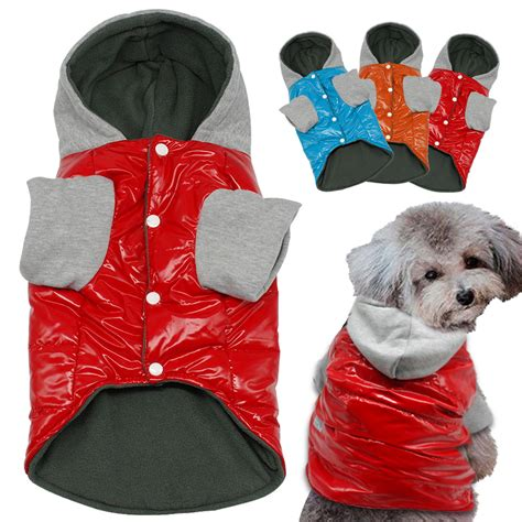 puppy clothes for cheap 2016 winter waterproof warm clothes pet clothing jacket cheap coat dogs hoodies