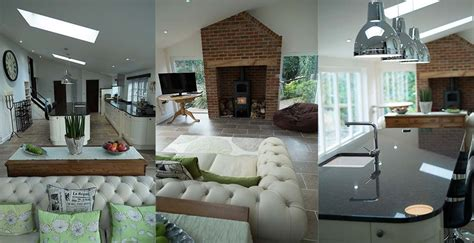 Cottage Kitchens Images - extension and new kitchen in extended property in little hallingbury essex
