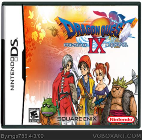 dragon quest ix: protectors of the sky nintendo ds box art