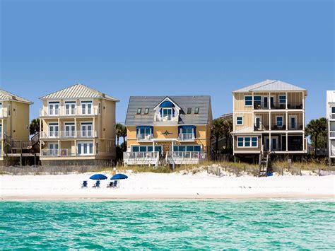 destin florida houses for rent house miramar vacation rentals by reef