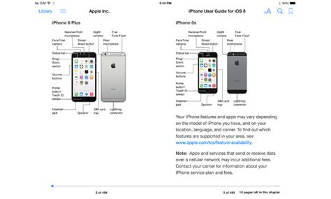 apple releases iphone user guide in ibooks
