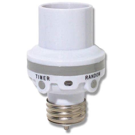outdoor in light socket timer for outdoor light socket