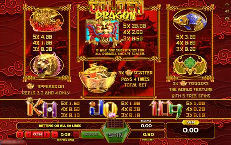 play golden dragon video slot  cyberspins