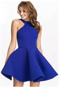 blue pretty womens halter sleeveless skater dress pink queen
