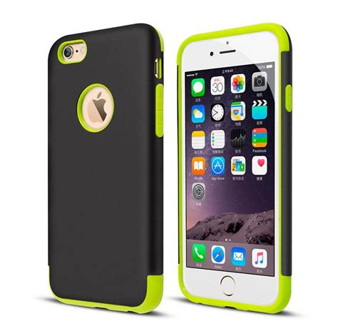 Iphone 6 6s Plus Rugged Armor Caseology Hybird Carbon caseology mars hybrid rugged back cover slim armor protection for iphone 6 6s 6plus 5 5s